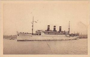 S.S. Patria, Fabre Line, French Mediterranean Line to the United States, 10...