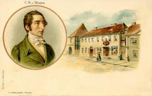 C.M. v.Weber, Composer.  (Music)