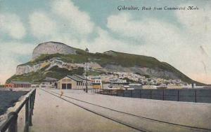 Rock From Commercial Mole, Gibraltar, 1900-1910s