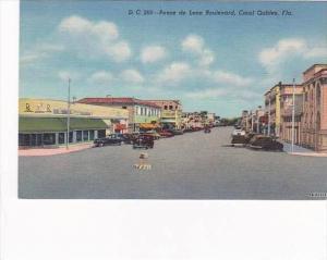 Florida Coral Gables Ponce De Leon Boulevard