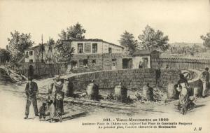 CPA Paris 18e (Dep. 75) Vieux-Montmartre en 1860 (82249)