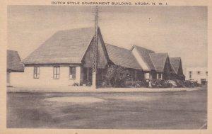 Dutch Style Government Building , ARUBA , N.W.I. , 20-30s