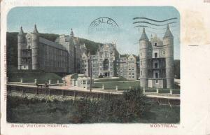 B77382 montreal royal victoria hospital   canada scan front/back image