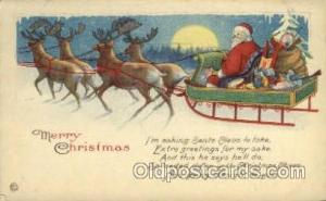 Santa Claus Postcards Post Card