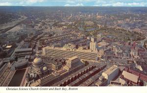 Boston Massachusetts~Christian Science Church Center And Back Bay~1960 Postcard