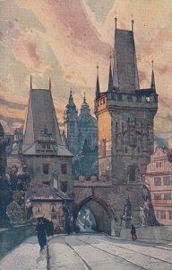 PRAG. , Czech Republic, 1921 ; Bruckenfurme
