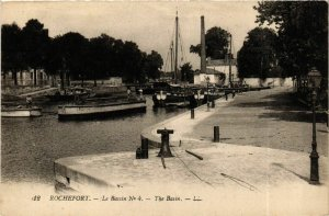 CPA ROCHEFORT - Le Bassin No.4 - The Bassin (976161)