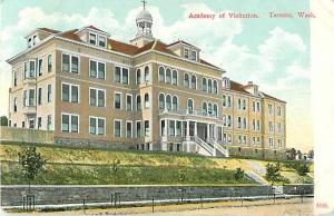 D/B Academy of Visitation Tacoma Washington WA 1909