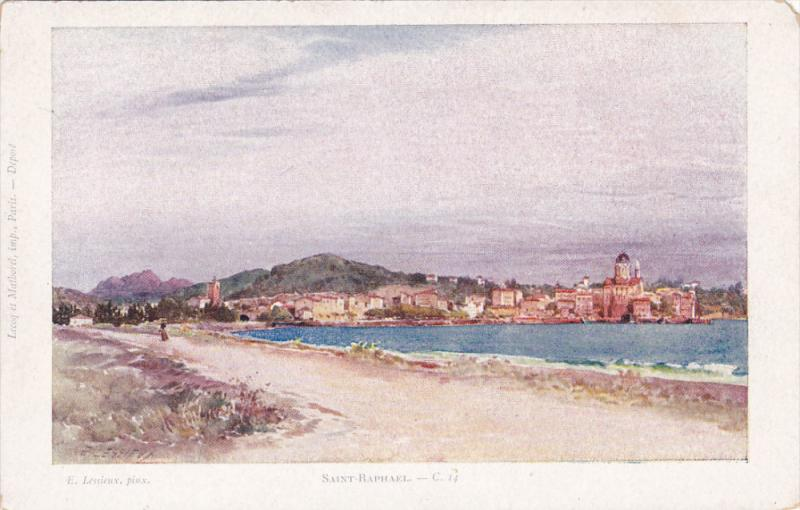 AS, Partial Scene, SAINT-RAPHAEL (Var), France, 1910-1920s