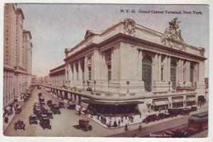 PC2 JLpc old grand central RR terminal many old cars nyc
