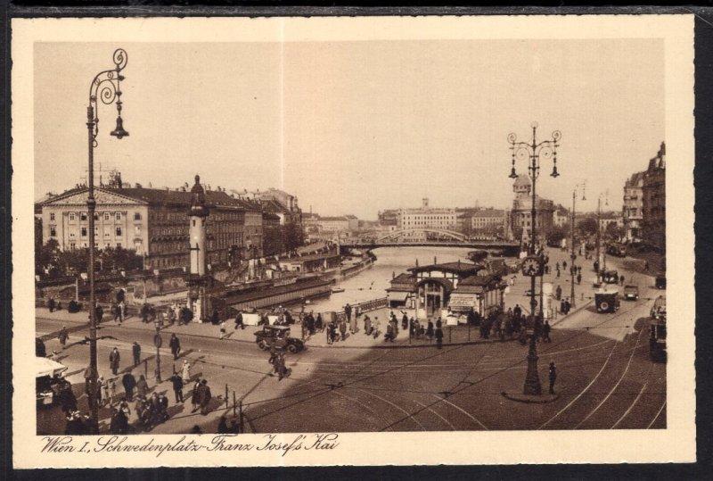 Schnedenplatz Franz Joseph's Kai,Vienna,Austria