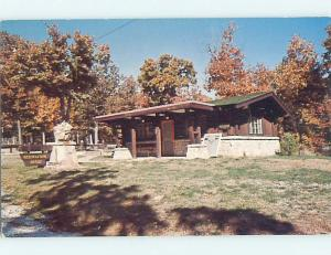 Unused Pre-1980 RESERVATION OFFICE AT CAMPGROUND Osceola Missouri MO r9719
