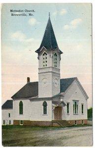 Brownville, Me, Methodist Church