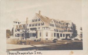 Templeton Inn Massachusetts~Destruction Began 1935, Razed in 1961~1905 RPPC