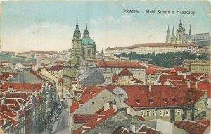 Czech R. Praha Prag Mala Strana a Hradcany infantry regiment censor 1918