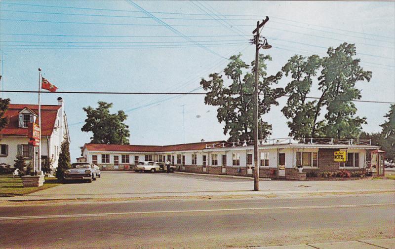 Ascot Motel , BURLINGTON , Ontario , Canada , 50-60s