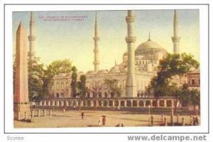 Mosque of Sulton Ahmid, Constantinople, Turkey, 00-10s