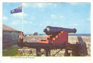 Cannon , Fort Charlotte , Nassau , Bahamas , 50-70s
