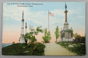 Top Of Orchard Knob, Grant's Headquarters, Chattanooga TN Postcard (#7202)