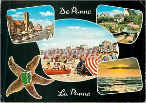 Modern Postcard Greetings from Panne