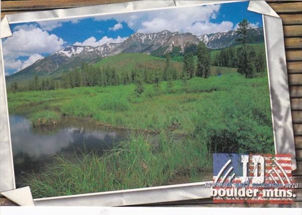 Idaho Boulder Mountains Sawtooth National Recreation Area