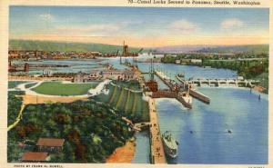 WA - Seattle, Canal Locks
