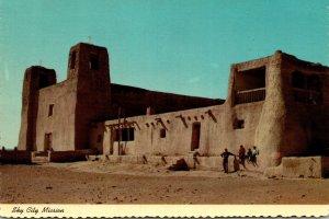 New Mexico Sky City Mission At Acoma Pueblo