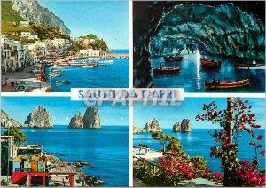 Postcard Modern Saluti Da Capri