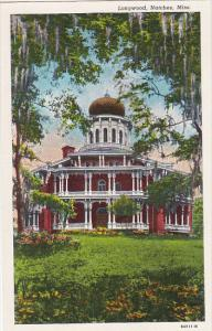 Longwood Natchez Mississippi Curteich