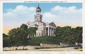 Exterior, Old Warren County Courthouse, Vicksburg, Mississippi,   00-10s