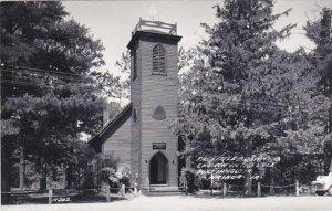 Iowa Nashua Little Brown Church In The Vale Real Photo RPPC