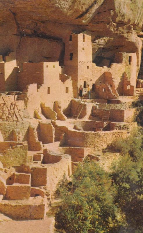 CLIFF PALACE (Indian Homes) , Mesa Verde National Park , 50-60s