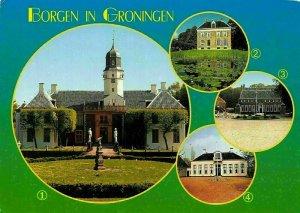Netherlands Borgen in Groningen Fraejilemaborg Ennemaborgh Menkemaborg Postcard