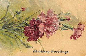 LP07   Catherine Klein Flowers Floral Postcard Artist Signed PFB Birthday
