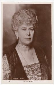 HM Queen Mary Of Teck c 1935 At Jubilee RP PPC, Unposted, By Elliott & Fry