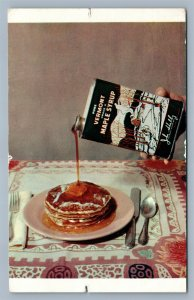 BARRE VT JOHN SHELBY MAPLE SYRUP ADVERTISING VINTAGE POSTCARD