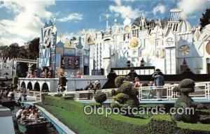 It's A Small World Disneyland, Anaheim, CA, USA Postcard Post Card Disneyland...