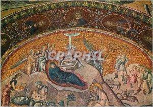 Postcard Modern Istanbul Turkey Byzantine mosaic from Chora Museum