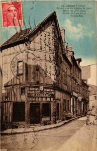 CPA Joigny - Maison dite de l'Arbre de Jesse - Grand'Rue FRANCE (960690)
