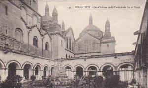 Les Cloitres De La Cathedrale Sainte-Front, Périgueux (Dordogne), France, 19...