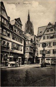 CPA AK Frankfurt a.M.- Saalgasse GERMANY (1028614)