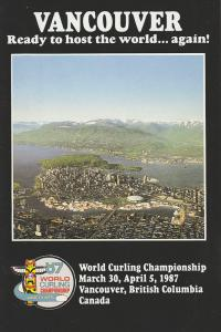 AD: World Curling Championship , VANCOUVER , B.C. , Canada , 1987