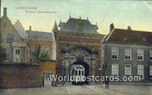 Binnenhof, Stadhouderspoort Gravenhage Netherlands Unused