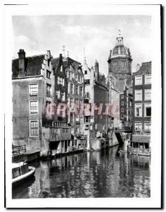 Postcard Modern Amsterdam T Kolkje the oldest quarter of the city