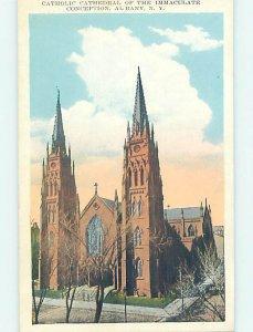 W-border CHURCH SCENE Albany New York NY AD1233