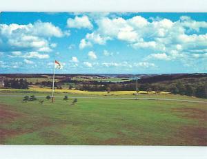 Unused Pre-1980 TOWN VIEW SCENE Strathgartney Prince Edward Island PE p8176
