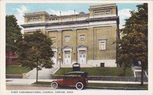 First Congregational Church Canton Ohio