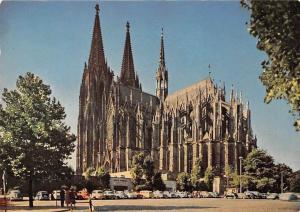 Koeln Dom, Cologne Cathedral, Voitures Cars Auto Cattedrale