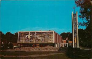 Chisholm Minnesota~St. Joseph's Catholic Church~1960s Postcard
