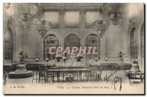 Postcard Old Casino Vichy new playroom